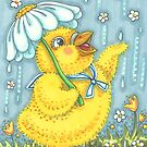 APRIL SHOWERS CHICK by Susan Brack