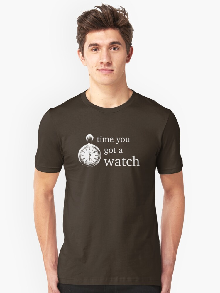 time you got a watch by groophics