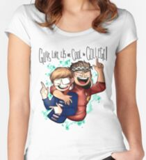 Be More Chill-Cool in college! Women's Fitted Scoop T-Shirt