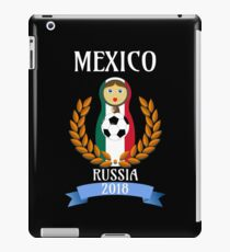 Soccer Cup 2018 Gifts Mexico  iPad Case/Skin