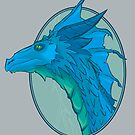 Blue Dragon by tommullin