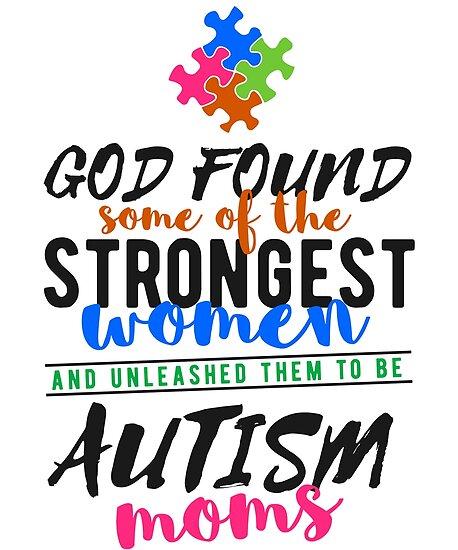 "Autism Awareness Art Posters Framed Artwork: ""Autism Mom, Autism Mom Shirt, Autism Awareness Shirt"