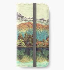 The Unknown Hills in Kamakura iPhone Wallet/Case/Skin