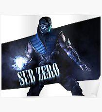 Mortal Kombat - Sub-Zero Poster