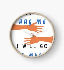 Hug yourself Clock