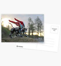 voltron black lion sunset Postcards