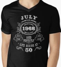 July 1968 Legend Men's V-Neck T-Shirt