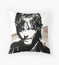 Walking Dead Daryl Dixon Throw Pillow