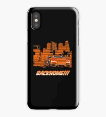 GTR R35 in orange color iPhone Case/Skin