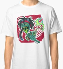 ZILLAKAMI - ZillaZombie Artwork Classic T-Shirt
