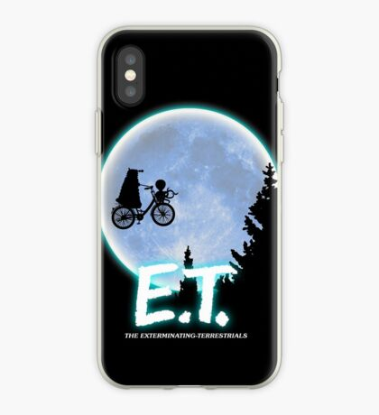 Exterminating Terrestrials iPhone Case