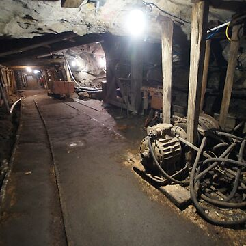 Underground at the State Coal Mine, Wonthaggi by belvoir