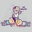 Eat flesh by Randyotter