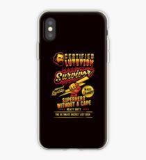 Funny Lutefisk Design Lutefisk Survivor iPhone Case