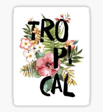 Tropical I Sticker