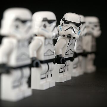 Curious stormtrooper by Maridac