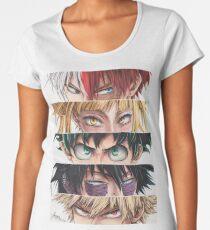 Camiseta premium para mujer Ojos de héroes