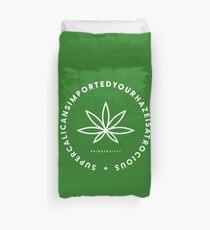 Super Cali Weed  Duvet Cover