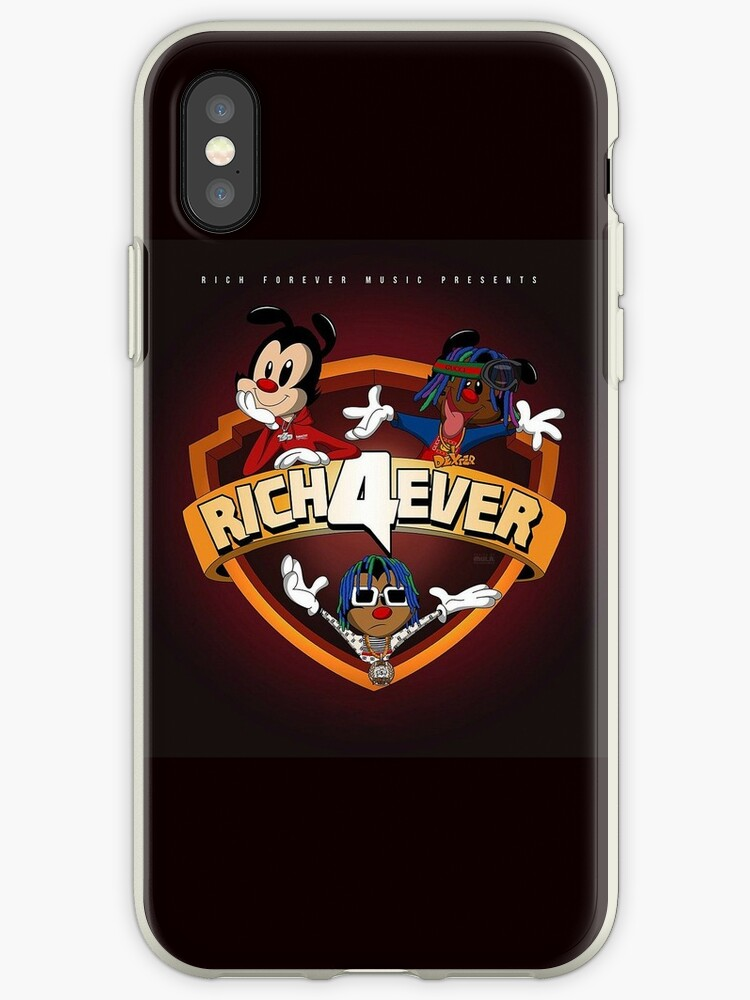 online retailer e91fb 2a741 'Rich the Kid Rich Forever 4' iPhone Case by Metanow