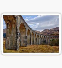 Glenfinnan Viaduct, Scotland Sticker