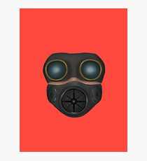 Gas MASK Photographic Print