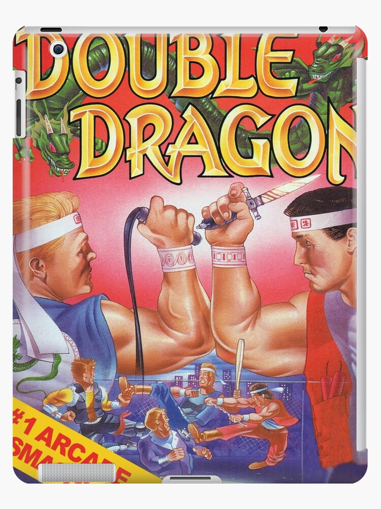 Double Dragon Nes Cover Ipad Case Skin By Icepatrol Redbubble