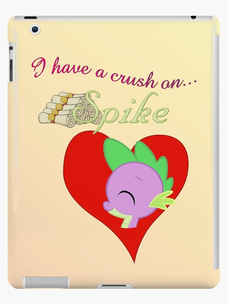 I have a crush on... Spike - with text by Stinkehund