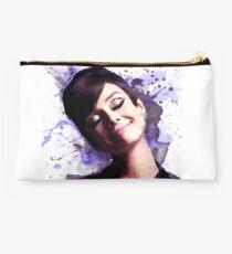 Audrey Hepburn watercolor digital Studio Pouch