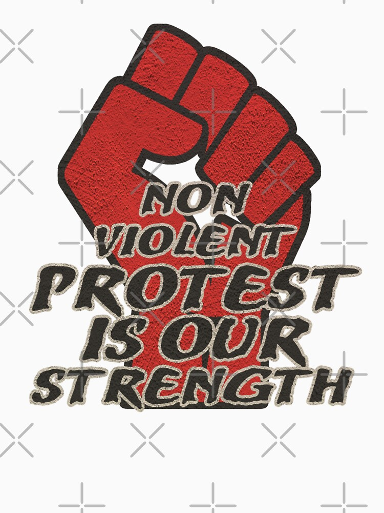 Non Violent Protest is our strength by Energetic-Mind
