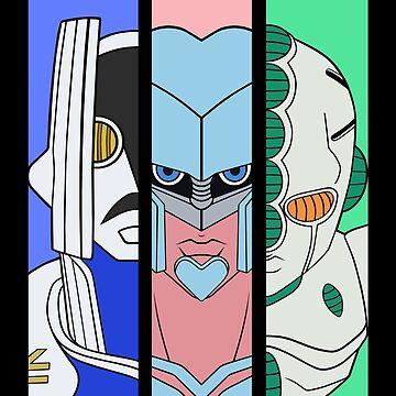 Diamond is Unbreakable - Hero Stands by spyrome876