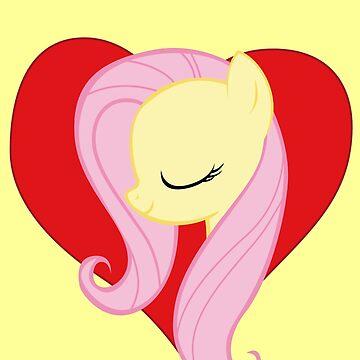 I have a crush on... Fluttershy by Stinkehund