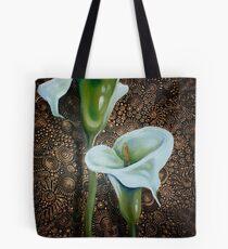 Arum Lilies Tote Bag