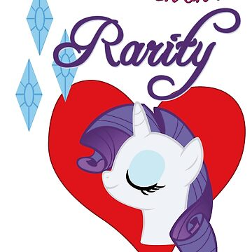 I have a crush on... Rarity - with text by Stinkehund