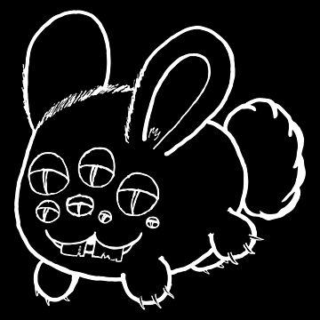 Bunny Monster by medulla9324