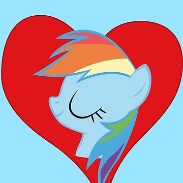 I have a crush on... Rainbow Dash by Stinkehund