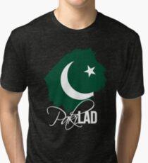 Paki Lad - For Proud Pakistanis Tri-blend T-Shirt