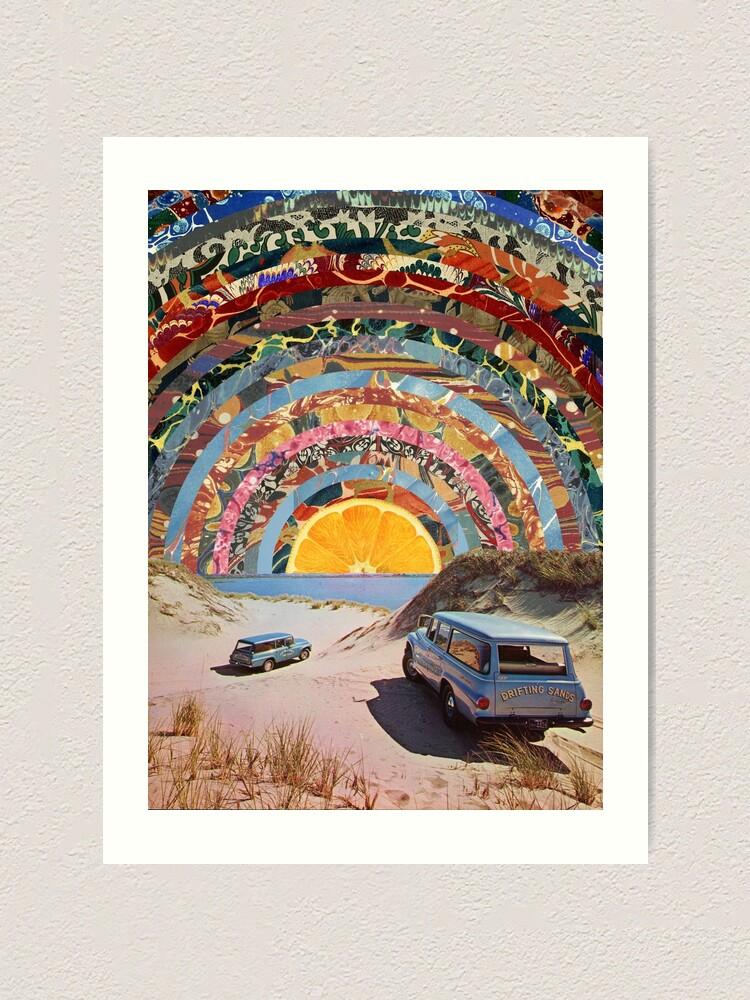 Alternate view of Orange sunset Art Print