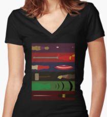 Assemble Women's Fitted V-Neck T-Shirt