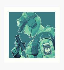 Ela Bosak Pixelart Art Print