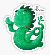 Wee Nessie (Light) Sticker