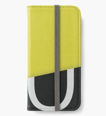 Graphic Poster #10 - Diagonal iPhone Wallet/Case/Skin