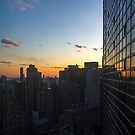 Sunset over New York by AmandaJanePhoto