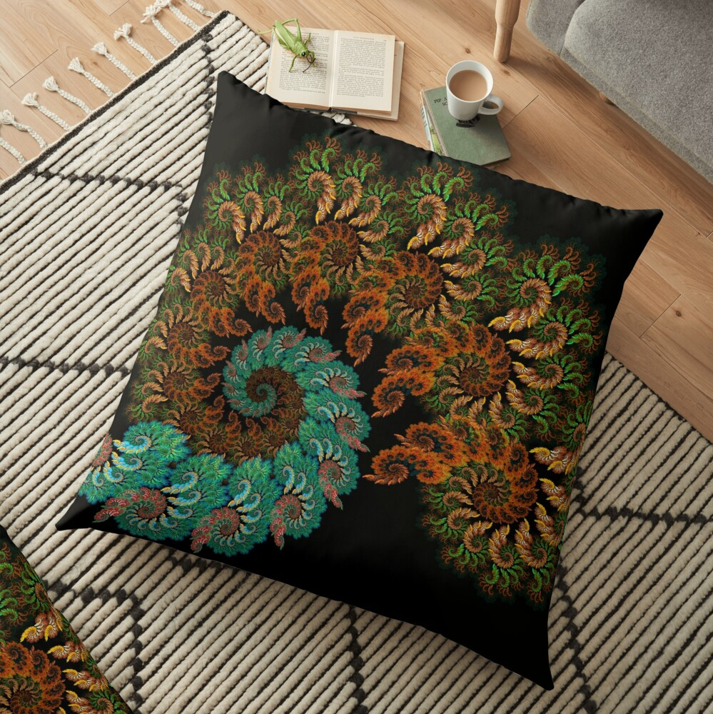 Love Of Paisley Floor Pillow