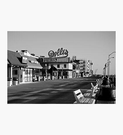 Rehoboth Board Walk Photographic Print