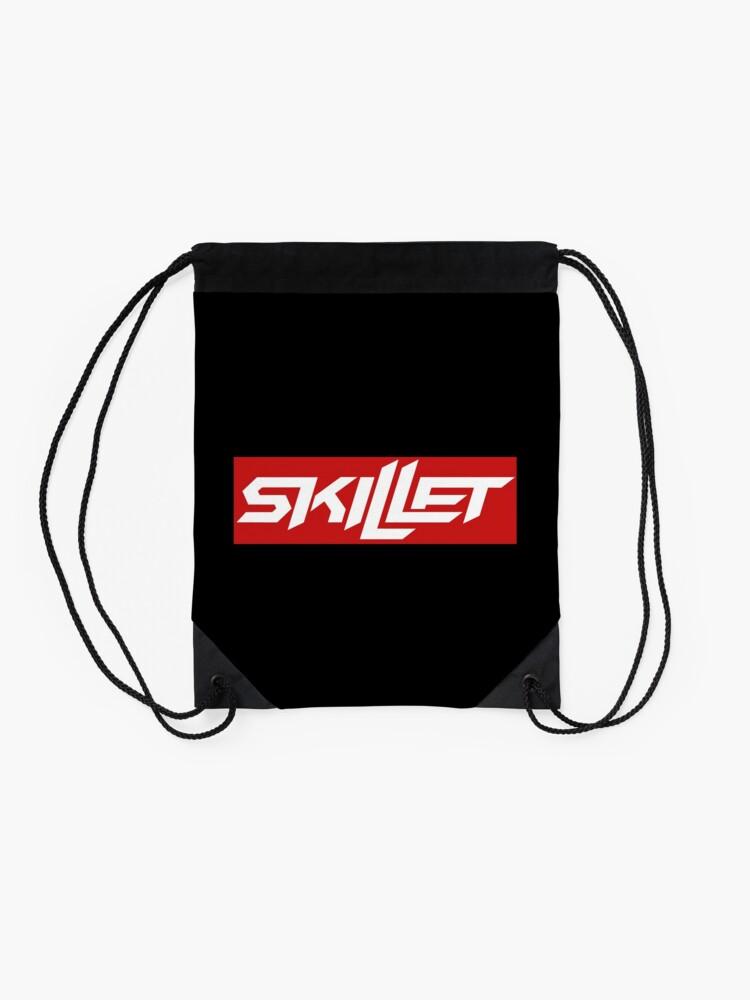 Alternate view of Skillet  Drawstring Bag