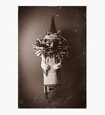 Hawk Doll Photographic Print