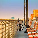 Bicycles & Boardwalk by AnneDB
