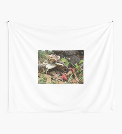 After the rain - life repeats Wall Tapestry
