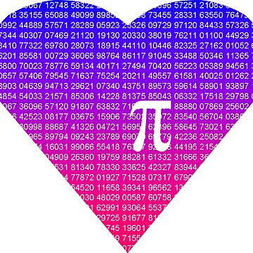 Pi Heart by hillyhale