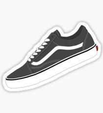 Vans - Grey / White Sticker